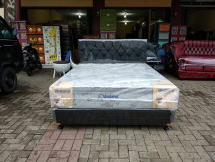 Kasur Spring Bed Uniland Plus Top 160 (matras only)